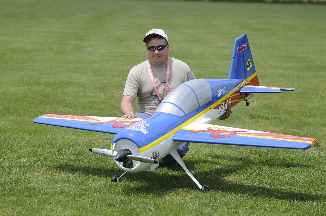 Frank Figurelli displays his Inspire 60.